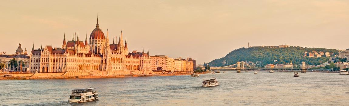 Mietwagen Budapest - Parlamentsgebäude