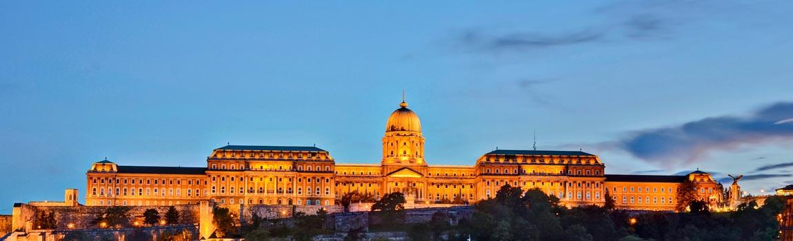 Mietwagen Budapest - Der Burgberg