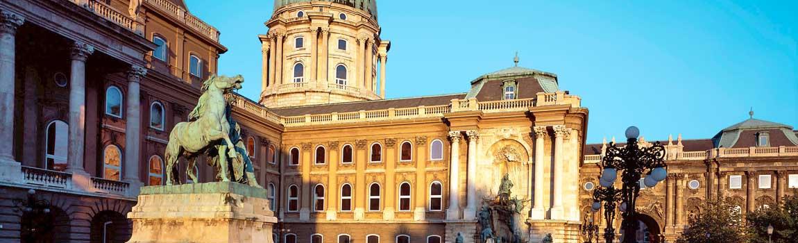 Mietwagen Budapest - Der Burgpalast
