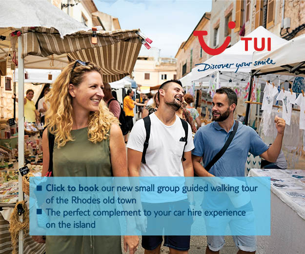 Highlights of Rhodes Walking Tour