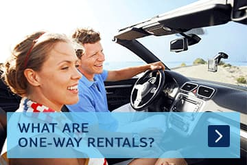 What are one-way rentals?