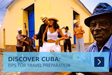 Cuba travel preparation
