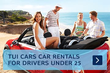 Car rental for drivers under 25