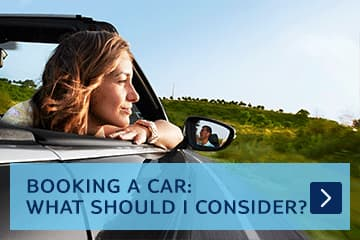 booking a car: what should I consider?